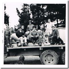 Glenhope shearers 1966